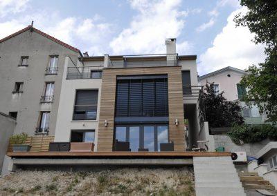 Construction d'une maison neuve d'habitation